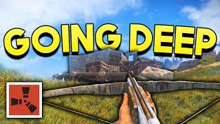 GOING DEEP IN A LABYRINTH! - Rust SOLO Survival #4