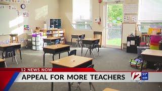 Gov. Raimondo Puts Out Call For Teaching Help