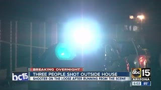 Homeowner arrested after shooting at Tempe house during party