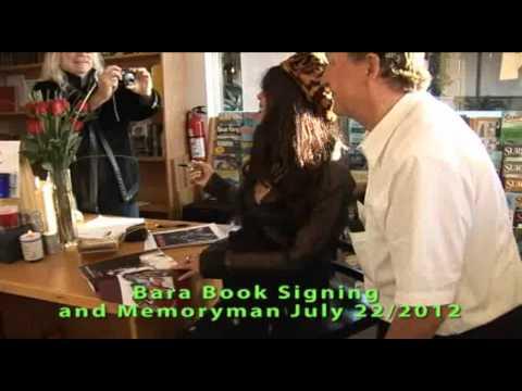 Bara book signing Memoryman July 22/2012.Malibu part 1