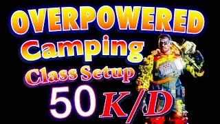 black ops 3 how to make a overpowered camping class setup 50 k d gameplay