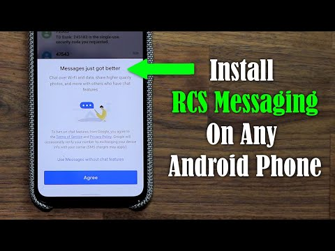 How to Install RCS Messaging on ANY Android Phone - Step by Step