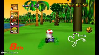 Failing Mario Kart 64 (No Commentary)
