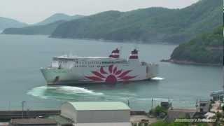 さんふらわあ こばると 小豆島坂手港出港 関西汽船