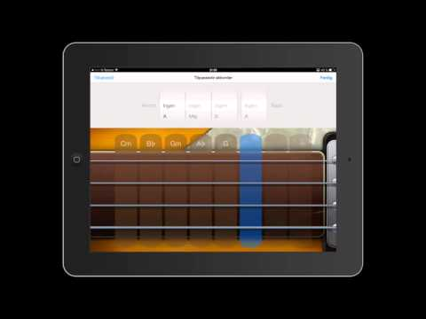 GarageBand for iPad 3: Spela inn smart instrument og redigere akkordar