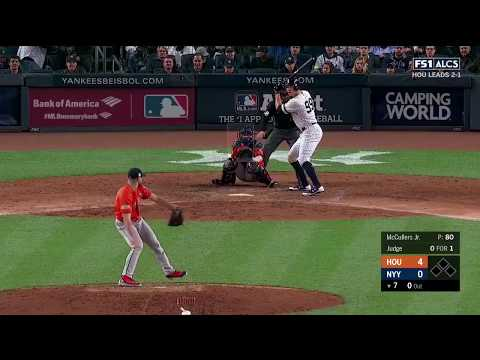 Aaron Judge Solo Homerun vs Astros   Yankees vs Astros Game 4 ALCS