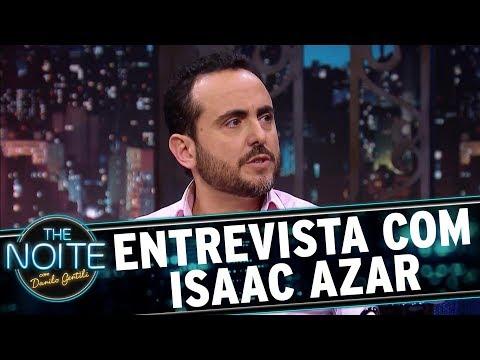 Entrevista com Isaac Azar | The Noite (22/11/17)