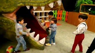 Fatih Selim'in 3 yaş Doğum günü parti'sinde arkadaş'larıyla oyun alanında geçirdiği eğlenceli gün