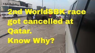 Why race got cancelled at WorldSBK at Qatar on Day 2