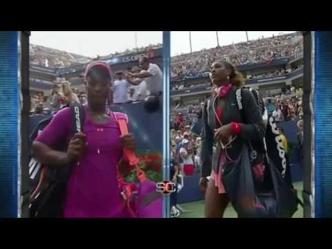 Serena Williams *Humbles* Sloane Stephens @ US Open 2013