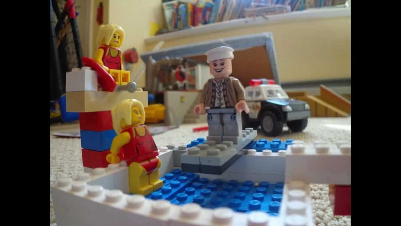 Lego Pool Party By Reileyrox Youtube