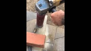 How to drill with a Dry Core Masonry Bit