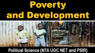 Poverty and Development International Relations Political Science UGC NET New Syllabus