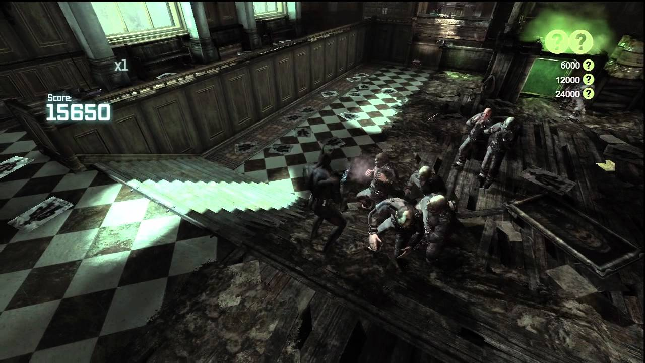 Batman Arkham City - Blind Justice Ranked Challenge ...