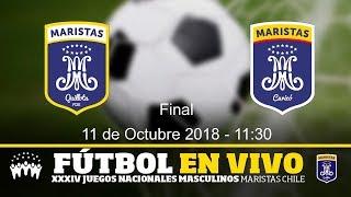 Partido de Fútbol 1° y 2° Lugar FDE v/s ISM.