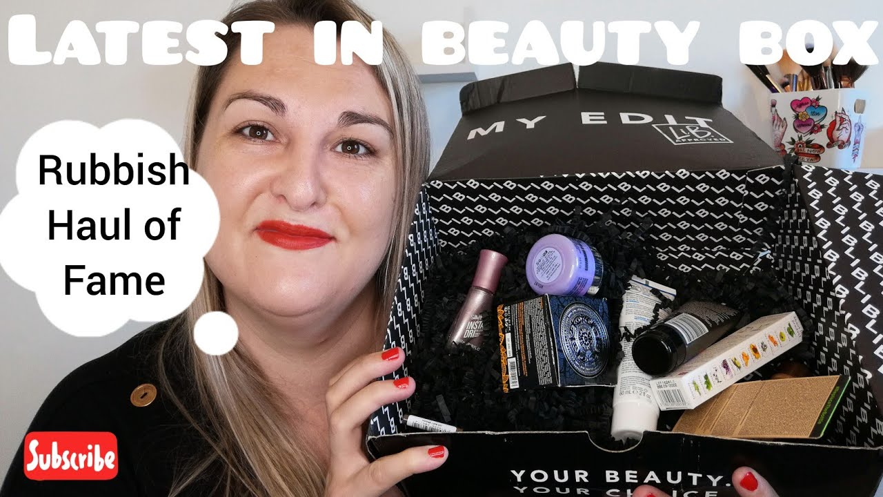 Latest in beauty unboxing June