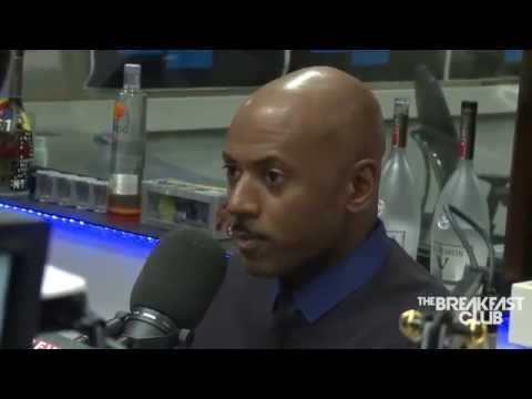 Romany Malco and Terrence J  at The Breakfast Club Power 105 1 06 20 2014
