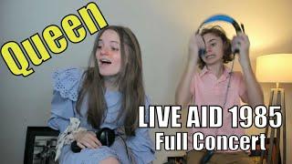 Teens Reaction - Quęen (Live Aid 1985) Full Concert