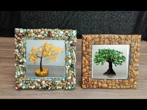 How to make Photo Frames - DIY Cardboard Craft