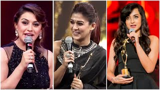 Cute, Funny & Emotional Hansika, Nayanthara & Trisha Best Actresses Over The Years | Tamil Actresses