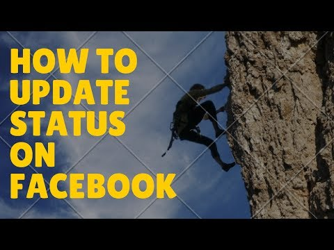 How To Update Status On Facebook