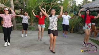 Di Sana Menanti Di Sini Menunggu - Via Vallen | Dance Cover | Dinda Sanggar Senam