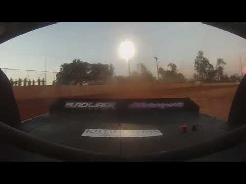 East Lincoln Speedway 6-29-19 Pro 4 Rear Cam Main Event 2of2 Alexus Motes