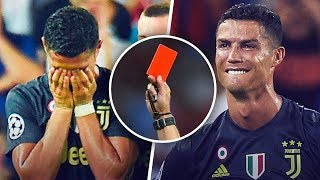 Cristiano Ronaldo's 11 red cards - Oh My Goal