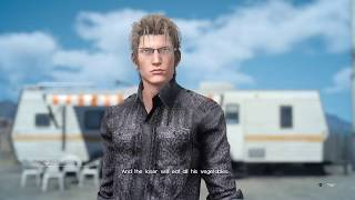 Noctis boss fight in 9 minutes - Final Fantasy XV, Episode Ignis