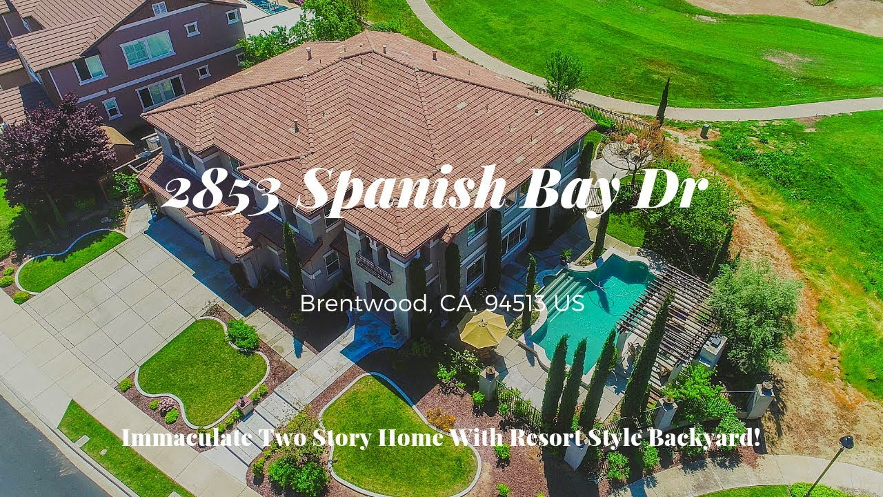 2853 Spanish Bay Dr Brentwood CA 94513 - Luxurious Tuscan Home