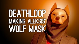 Making the Wolf Head from Deathloop | Deathloop Gameplay, Chat and Crafting!
