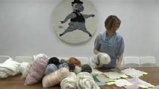 Тестирование материалов с Мариной Журавлевой - кашемир, ангора, мохер.