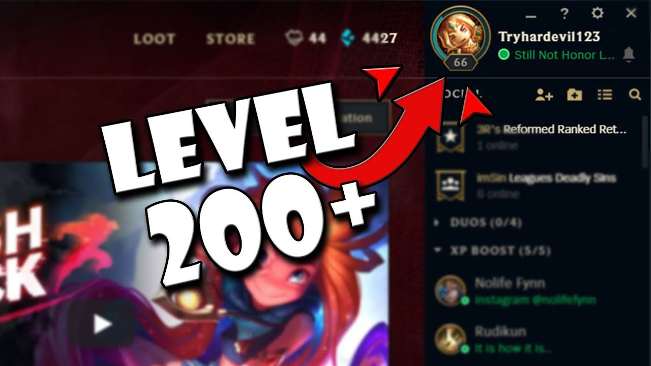 How To Level Up Fast In League Of Legends (50K XP IN A DAY, 15+ LEVELS)