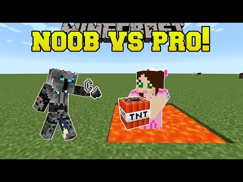Minecraft: NOOB VS PRO!!! - TNT TAG! - Mini-Game