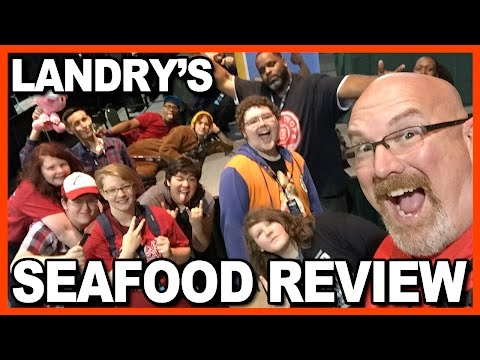 Landry's Seafood Review with Daym Drops & Live Audience at TheGameCon
