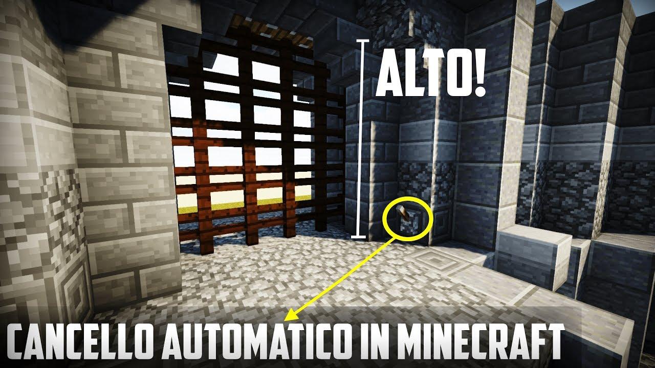 Cancello Di Legno Minecraft : Cancelletto minecraft: cancello automatico minecraft. neutronium