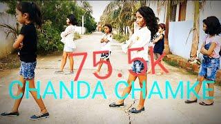 Chanda Chamke Cham Cham!!Song!! Cover Dance!! Kids !! Choreographed!!By  Prem Singhaniya