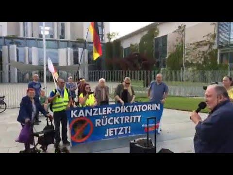 """169. AfD Demo in Berlin """"MERKEL MUSS WEG"""" mit Franz Wiese, AfD 01.07.2020"""