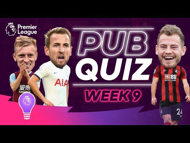 Premier League Pub Quiz | Episode 9