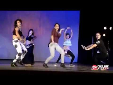 DELHI UNIVERSITY STUDENT STAGE DANCE, VIDEO