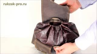 Рюкзак большой из мягкой кожи_5(Купить данный кожаный рюкзак Вы можете в нашем интернет-магазине рюкзаков: http://rukzak-pro.ru/catalog/ryukzaki_kozhanye/kozhanye_ryu..., 2015-03-23T13:14:06.000Z)