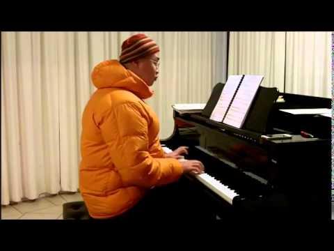 ABRSM Piano 20152016 Grade 4 C:3 C3 Prokofiev Progulka Promenade Op.65 No.2 by Franz