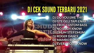 DJ SUBWOOFER BASS TEST SPECIAL CEK SOUND TERBARU 2021 FULL BASS - DO YOU LIKE THIS !