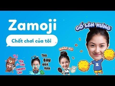 Cách tạo biểu tượng cảm xúc (Sticker/Emoticon/Moji) độc đáo bằng chính khuôn mặt của bạn với Zamoji