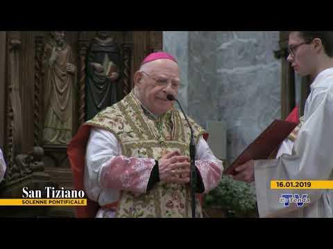 San Tiziano. Solenne pontificale 2019