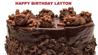Layton - Cakes Pasteles_509 - Happy Birthday