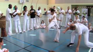 Les capoeiristes d'Elancourt passent leur grade