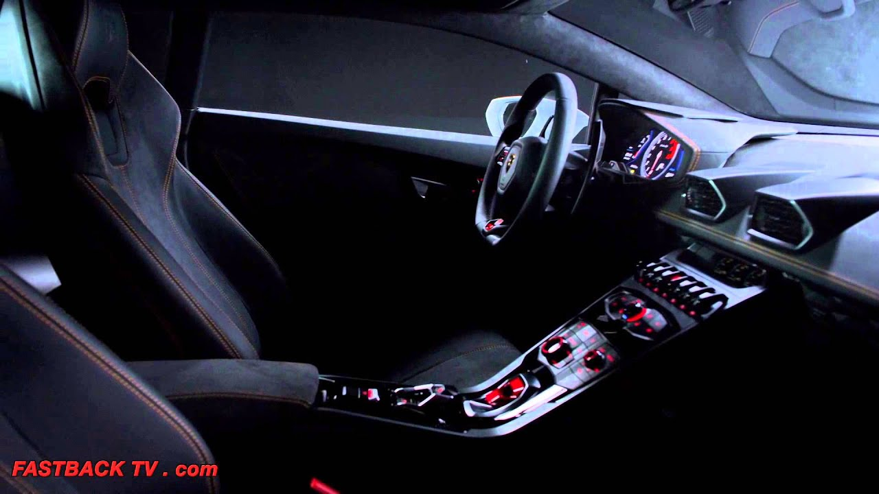 lamborghini hurac n interior hd commercial carjam tv 2014. Black Bedroom Furniture Sets. Home Design Ideas