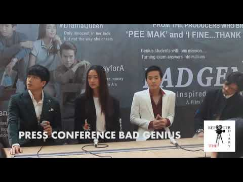 REPORTER DIARY MEET N GREET CAST BAD GENIUS NONKUL AKU CINTA