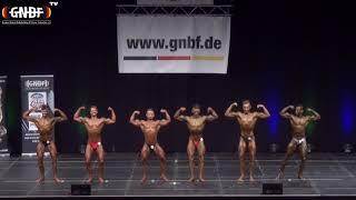 Männer Super-Bantamgewicht 16. GNBF Deutsche Meisterschaft 2019